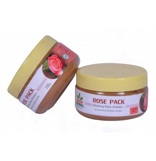 ROSE FACE PACK - 150 GMS