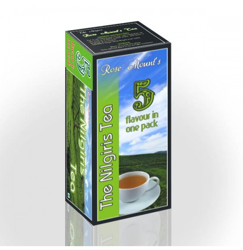 ROSE MOUNT 5 IN 1 FLAVOUR TEA - 500 GMS