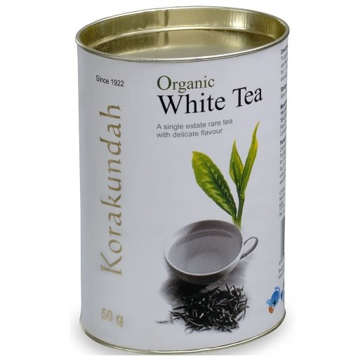 Korakundah Organic White Tea in Canister Pack - 100 GMS